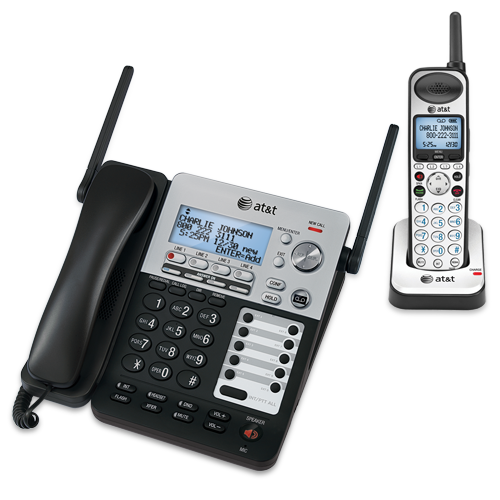 4 line phone system with answering machine