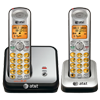 2 handset cordless phone system with caller ID/call waiting