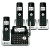 4 handset Connect to Cell™ answering system with dual caller ID/call waiting