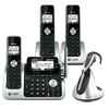 3 handset Connect to Cell™ answering system with cordless headset