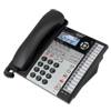 Corded 4-line telephone with digital answering system, base speakerphone, caller ID/call waiting1 and expandable up to 16 stations