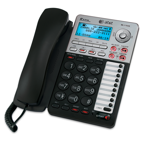 best 2 line cordless phone with answering machine