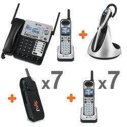 SynJ® cordless business phone system - Business bundle 9
