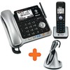 2-line Connect to Cell™ corded/cordless answering system with cordless headset