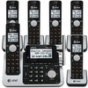 6 handset answering system with dual caller ID/call waiting
