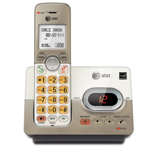 Cordless phone system with caller ID/call waiting EL52113