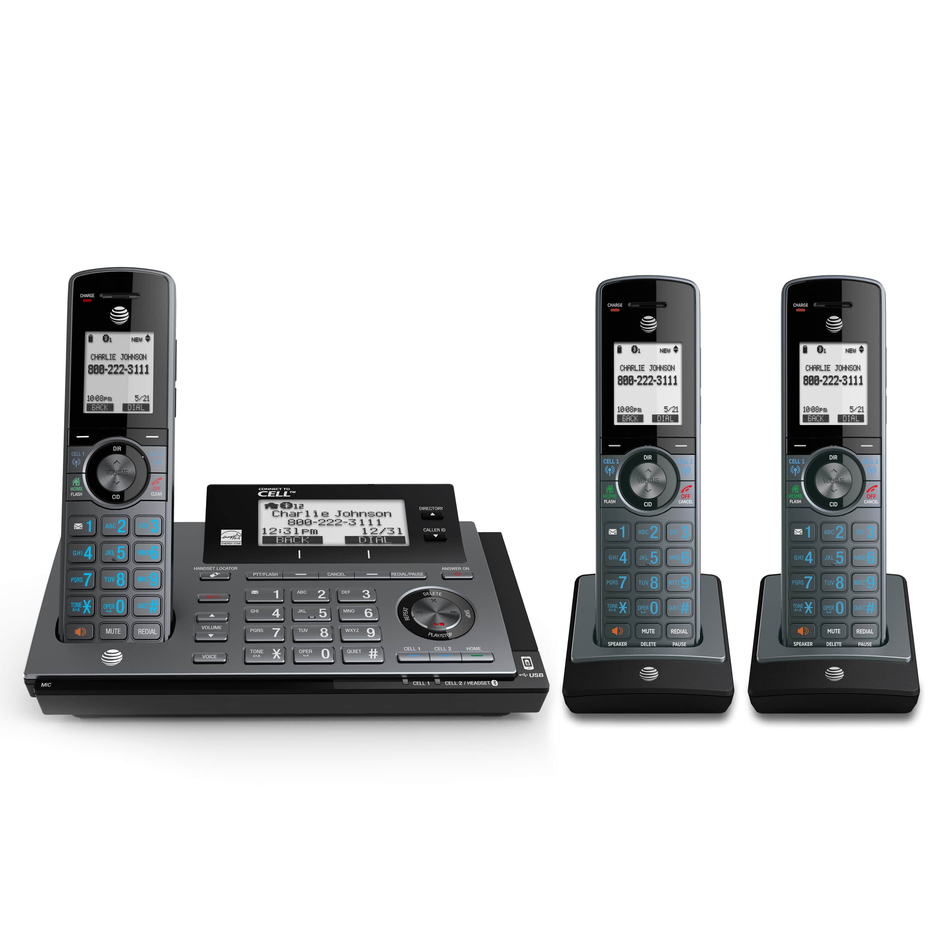 bluetooth connect to cell cordless phones at t telephone store rh telephones att com Panasonic Cordless Phones Panasonic Cordless Phones DECT 6.0