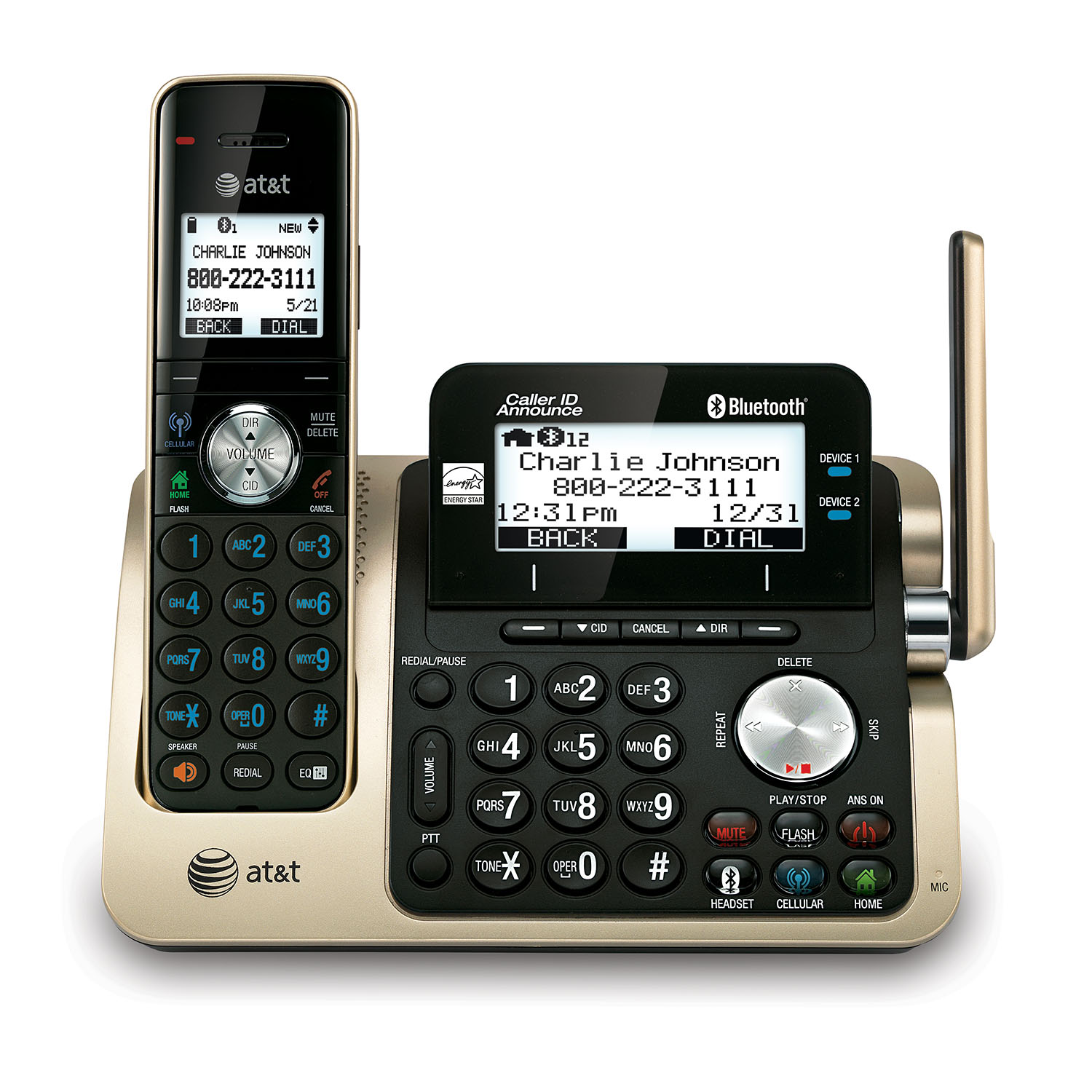 At T Cordless Phones Cordless Phone Systems At T Telephone Store