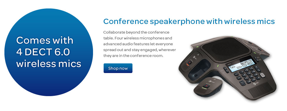 Conference speakerphones business phone system.