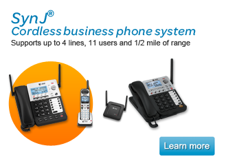 SynJ cordless business phone system